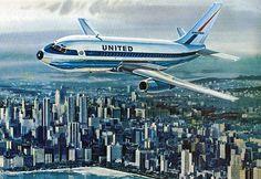 United Airlines Illustration
