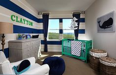 Baby on the way? There's certainly room for your little one in this Colina Plan 1 Nursery | by SheaHomesNoCal