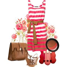 Stripes--Love the dress