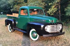 Bid for the chance to own a 1949 Ford at auction with Bring a Trailer, the home of the best vintage and classic cars online. Classic Cars British, Ford Classic Cars, Classic Cars Online, Classic Trucks, Lifted Chevy Trucks, Ford Pickup Trucks, Car Ford, Ford Gt, Lifted Silverado
