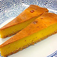 収穫祭の為に、試作品作ってます (^O^☆♪ - 38件のもぐもぐ - かぼちゃのチーズケーキ(*^o^*) by asahi2235