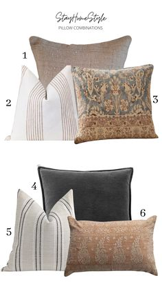 PILLOW TALK: EVERYTHING YOU NEED TO KNOW ABOUT STYLING AND SHOPPING FOR PILLOWS