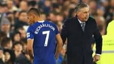 Everton have appointed Carlo Ancelotti as their manager in a move that will be regarded by the club as a significant coup Football Cards, Football Players, Mikel Arteta, Carlo Ancelotti, Goodison Park, The End Game, Everton Fc, Burnley, Paris Saint