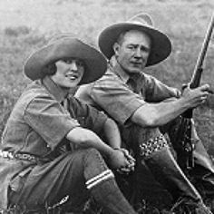 Isak Dinesen / Karen Blixen moved to Kenya and met Denys Finch Hatton
