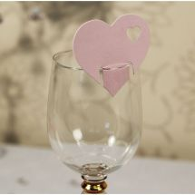 A stunning set of cards holding 10 per pack to sit on top of a your glass. A great way to decorate your tables with these fantastic wedding accessories to bring colour and elegance to your special day.