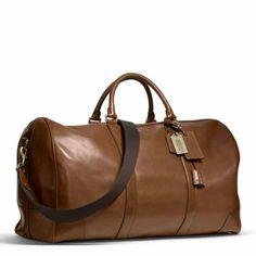 Coach Men's duffle bag