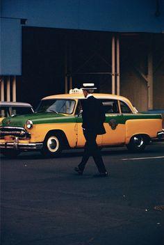 Saul Leiter, Straw Hat, ca. 1955