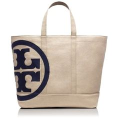 Tory Burch Beach Zip Tote Bag