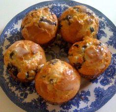 Sweet Tea and Cornbread: Lemon Blueberry Muffins!