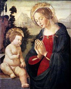 The Athenaeum - Madonna and Child (Domenico Ghirlandaio - )