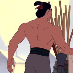 Li Shang, Mulan | Every Disney Prince's Butt, Ranked From Worst To Best This is too funny not to pin