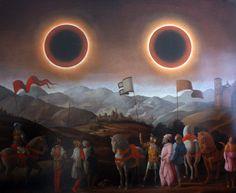 Laurent Grasso, Soleil double | Galerie Emmanuel Perrotin