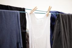 How to Remove Grease or Oil Stains from Clothing -- via wikiHow.com..I've done some of these steps and they work out