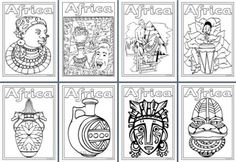 1000 images about africa on pinterest ethiopia congo for African culture coloring pages