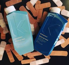 REPAIR.ME Wash & Rinse by Kevin Murphy! Contains powerful protein from bamboo and silk amino acids that reconstruct, restore, and strengthen while preventing damage!