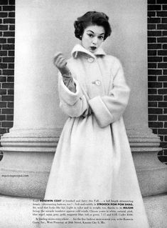 Rosewin Coats 1952 / Jean Patchett