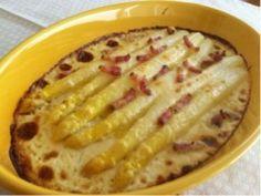 ホワイトアスパラガスのチーズグラタン - おいしい食卓+ちょこっとレシピ | 家の時間 自分らしい住まいと暮らし見つけるウェブマガジン