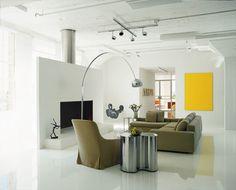 Spectacular art collector's loft