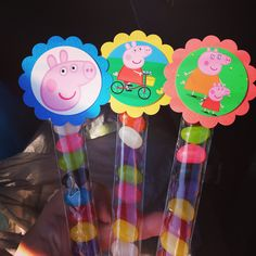 Peppa Pig party treats