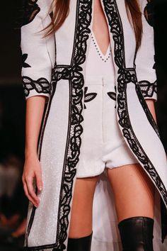 Givenchy Spring 2015 RTW – Runway – Vogue #style #beautyinthebag #fashion