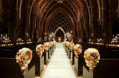 Traditional church wedding!