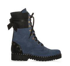 ΓΥΝΑΙΚΕΙΑ ΜΠΟΤΑΚΙΑ ΑΡΒΥΛΑΚΙΑ ΜΕ ΤΡΟΥΚΣ SAGIAKOS (BLUE) Combat Boots, Blue, Shoes, Women, Fashion, Moda, Combat Boot, Zapatos, Shoes Outlet