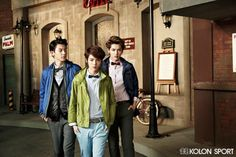 KOLON SPORT WITH EXO #EXO #EXOTIC #EXOK #EXOM