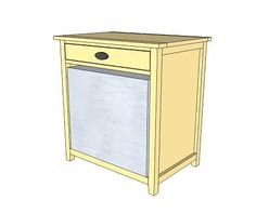 A cabinet to store a mini fridge. DIY directions on how to build! Dorm!