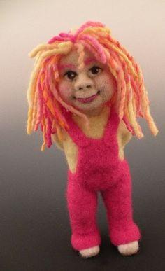 *NEEDLE FELTED ART ~  Doll Maker | Needle Felting Instructor | Kay Petal | Felt Alive Wool Sculptures