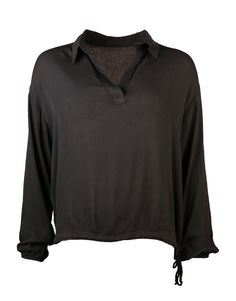 String detailed blouse- black   Clouds of Fashion