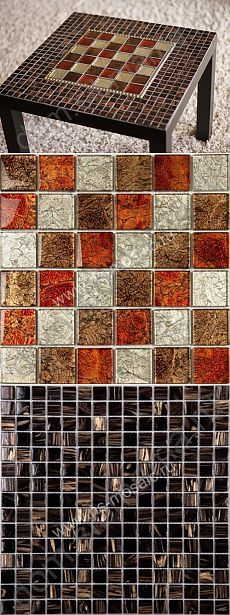 Столик с мозаичной столешницей - Мебель своими руками