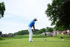 Dustin Johnson Swing Sequence GIF