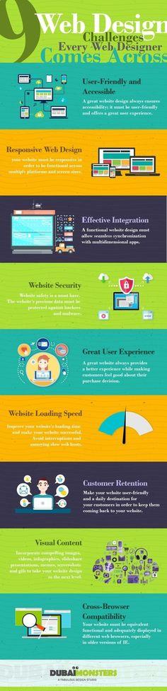 9 Web Design Challenges