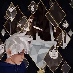 fanart, jack frost, and rotg image