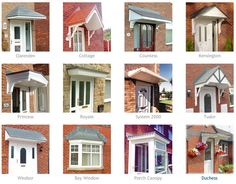 Wood Door Awnings with trellis   Choose A Canopy Style That Fits Your Home  sc 1 st  Pinterest & Richard Burbidge LC003 Flat Roof Porch Canopy Kit - Outdoor Living ...