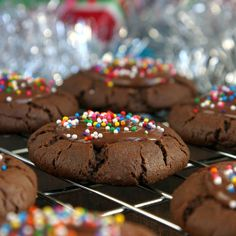 Chewy chocolate cookies with a creamy, luscious nutella center!