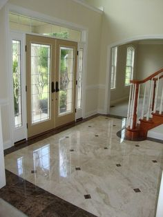 Foyer Tile Design Ideas large foyer with vaulted ceiling and color tile floors Find This Pin And More On Entry By Rudysc Great Room Floors Design Ideas