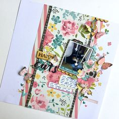 A new process video up on the @kitaholickits youtube channel my last one using the May kits! I based this #layout on the #sketch I posted over on the Kitaholic Kits subscribers facebook forum but of course made it my own I really enjoyed working with this kit! #scrapbooklayout #scrapbooking #kitclub #patternedpaper #12x12layout #simplestories #iamcollection #fussycut #embellishments #crafty Simple Stories, Scrapbook Layouts, Scrapbooking, Embellishments, Kit, Crafty, Projects, How To Make, Channel