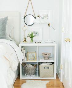 diy nachttisch ikea hack oddvar nightstand schlafzimmer pinterest ikea hacks hacks und. Black Bedroom Furniture Sets. Home Design Ideas