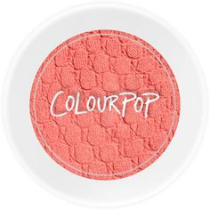 A true mid tone peachy pink blush- It's time for the good times, forget about the bad times. Colourpop Blush, Colourpop Cosmetics, Colourpop Super Shock, Matte Blush, Blush Color, Colour Pop, Beauty Treats, Peach Blush, How To Apply Foundation