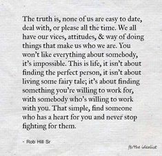 Find someone who has a heart for you. ❤️