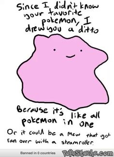 'Mew that got ran over by a steamroller' - - Pokemon Memes and Funny Pics - Pokestache