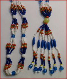 Santeria cubana Mazo  necklace for OLOKUN Orisha by tiendaAmerican, $24.99