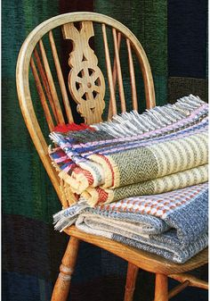 New Twill Shetland Wool Throws — Interiors — wallace#sewell