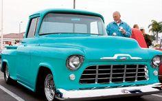 Dream truck, it looks like my daddy's! Custom Classic Cars, Classic Trucks, Custom Cars, Vintage Cars, Antique Cars, L Car, Custom Chevy Trucks, Kustom Kulture, Hot Rods