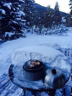 It is always Cobb season! 10,000 ft up in the Rockies. Todd Wilhoyte cooking up a storm. www.cobbgrillamerica.com