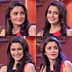 Her Smile, Her Expressions ❤ Everything is So Perfect  Alia bhatt