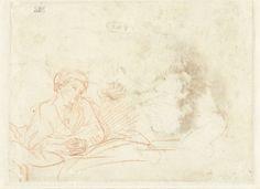 Rembrandt Harmenz. Van Rijn - Vrouw (Saskia)
