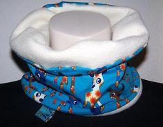 Brrrrrrrr es wird kalt...!!!    Bambi-Blumen Wende - Loop für die kleinen Racker  Vernäht wurde ein Fleece von Swafing  &  ein Jersey von ZNOK mit süßen Rehen & Blümchen    Gr.50 - 60  Länge rundherum ungezogen  52cm    gezogen bis auf 62cm  Breite     16cm
