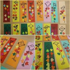 Autumn Crafts, Autumn Art, Autumn Theme, Spring Crafts, Autumn Activities For Kids, Art Activities, Halloween Crafts For Kids, Paper Crafts For Kids, Kindergarten Crafts
